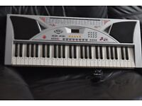 MK-2054 KEYBOARD RECORD AND PLAY POWER ADAPTER/CAN BE SEEN WORKING