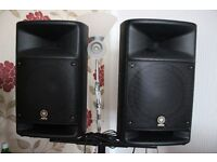 Yamaha Stagepas 500 PA system like new condition.