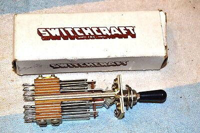 Switchcraft 160324 Telever Toggle Switch 2 X 4pdt Non-locking New Nib