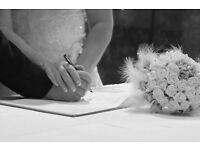 Wedding and Events Photographer, Special price for registry office ceremonies