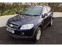 08 CHEVROLET CAPTIVA 2.0 VCDI LTX 7 SEATER ++ LONG MOT, FULL LEATHER & 4WD ++