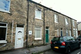 1 bed terrace house for immediate rent, Dudley Street, central York, no estate agent fees