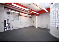large warehouse space in the heart of Dalston