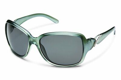 SunCloud Weave Polarized Sunglasses (Smoke Black Paint Frame / Gray Lens)