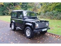 2006 Land Rover Defender 90. Td5 County Station Wagon. Lady Owned. FSH. 7 Seats. Superb Example.