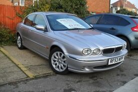 Jaguar X- Type SE Auto. Only use as a weekend car. selling due to van for business.
