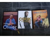 3 x Jamie Oliver cookbooks