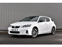 2014 LEXUS CT200H ADVANCE - **SAT NAV, LEATHER, PARKING CAMERA, FULL HISTORY, NEW TYRES**