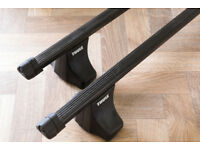 Thule SquareBar Roof Bars Roof Rack With Rapid Fit System Feet