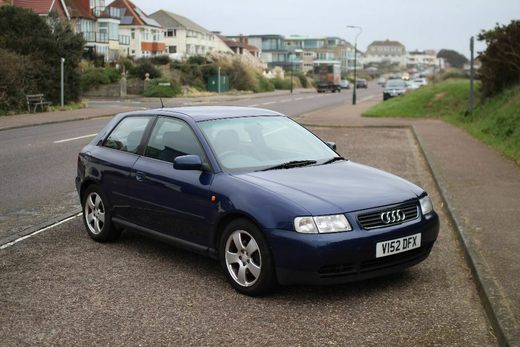 audi a3 1 8t sport dark blue 1999 in bournemouth dorset gumtree. Black Bedroom Furniture Sets. Home Design Ideas