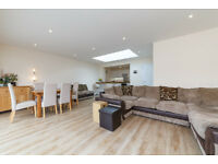 3 bed semi-detached bungalow with large driveway, open plan kitchen, diner, lounge and garden