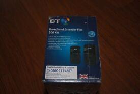 BT Broadband Extender Flex 500 kit NEW unused in sealed box
