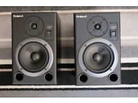 Roland DS-5 Digital Reference Monitors.