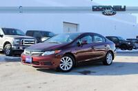 2012 Honda Civic EX Moonroof - Power equipment - Cruise control