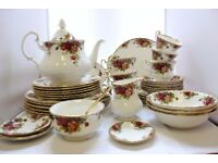 Royal Albert ,,Old Country Roses'' 50 Pieces Full Set