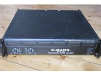 C-Mark Professional amplifier