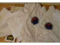 Tae Kwon-do training tops and trousers - 2 of each