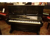 Steinway upright piano, fully reconditioned. UK delivery available