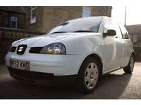 Seat Arosa 1.0L MPI manual 80,000 miles petrol FSH (2003) offers welcome