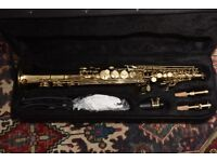 Soprano Saxophone complete with case by Gear4music MRP £250
