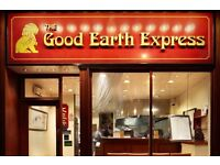 we are a well establish The Good Earth' Express Chinese takeaways looking counters staffs