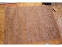 Berna Shaggy Rug (Latte) brand new (120cmx170cm)