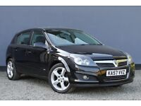 2008 Vauxhall Astra 1.8i 16v SRi | Petrol | Manual | Black ★ New Tyres & Timing Belt ★ 12 Months MOT