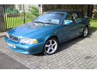 Volvo C70 Turbo 2.0 Convertible 2002 1 years Mot FSH £600 just spent ** PRICE REDUCED ** £1695 ono