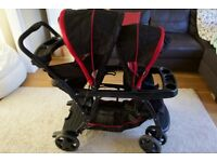 Graco Ready to Grow Double Stroller Chilli Sport