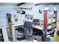 Art Studio/ workshop just of Gloucester rd £80pm (all bills included)