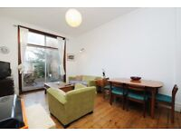 Carysfort Road, two bed flat, with sole use of paved garden