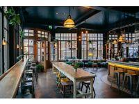 BARTENDERS- Shoreditch,Brick Lane- Pub, Restaurant, Bedrooms, Roof Garden- Great Pay & Opportunities