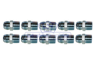 1 in Male Flat Face O-Ring x 1 in Female JIC 37/° Flare Swivel Straight Adapter Brennan 3 Units