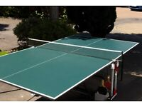 Foldable Butterfly Table Tennis Table £125