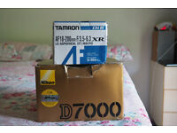 Nikon D7000 Mint Body + Tamron AF18 200mm f/3.5-6.3 XR MACRO