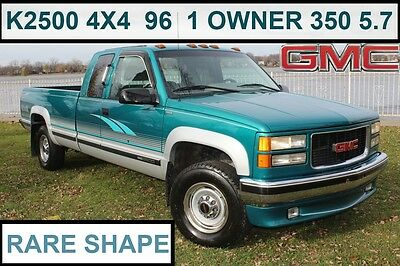 1996 GMC Sierra 2500 2500 GMC SIERRA K2500 96 4x4 - EXCELLENT CONDITION- ORIGINAL PAINT- *262 PICS/VIDEOS*
