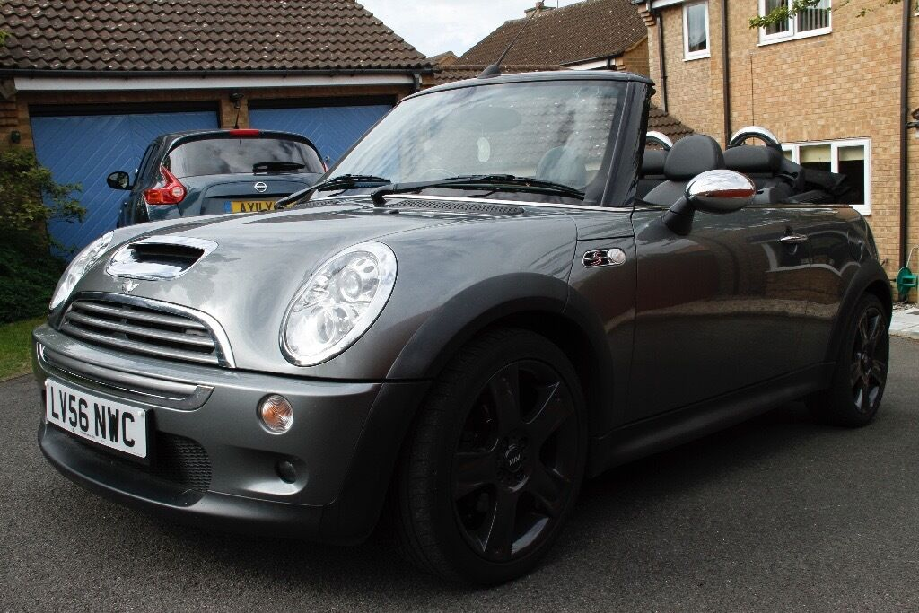 Mini Cooper S Convertible 2006 Beautiful Condition Grey Chrono Pack Only 41000
