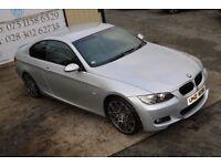 2008 BMW 3 SERIES 2.0 320D M SPORT 175 BHP COUPE (FINANCE & WARRANTY)