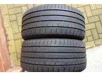 2x tyre Maxxis 255/40/19 tyres