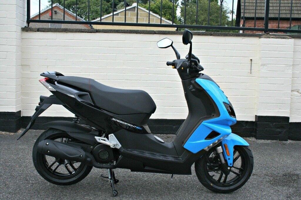 Peugeot 'Speedfight' 4 50cc Moped