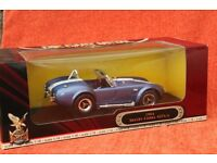 1964 Shelby Cobra 427, 1:18 scale Die Cast Model Car