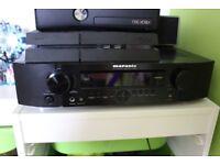 L@@K Marantz AV 7.1 surround sound receiver home theater NR1501 HDMI amplifier