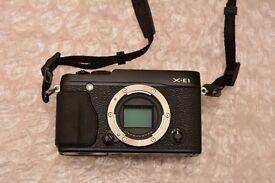 Fujifilm X-E1 mirrorless camera