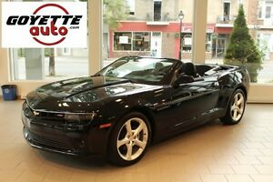 2015 Chevrolet Camaro RS LT, Cuir, Convertible, Automatique