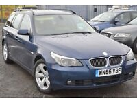 BMW 530D TOURING - 2 KEEPERS FSH LONG MOT - VERY HIGH SPEC MINT CONDITION NEEDS NOTHING 520d 525d
