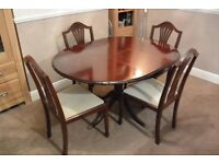 Dining Table with four chairs