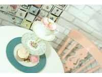 Beautiful hand made vintage bone china cake stands, sweetie stands & trios for afternoon tea party