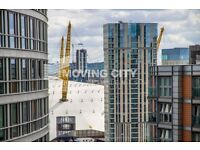 A LUXURY BRAND NEW 18TH FLOOR 2 BEDROOM 2 BATHROOM FLAT TO RENT IN CANARY WHARF E14 WITH GYM CONCI