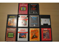 10 Atari 2600 Games & Console
