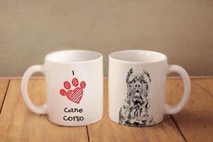 Cane Corso, Italienischer Corso-Hund - ein Becher &quot;I love&quot; Subli Dog, DE - <span itemprop='availableAtOrFrom'>Zary, Polska</span> - Zwroty są przyjmowane - Zary, Polska